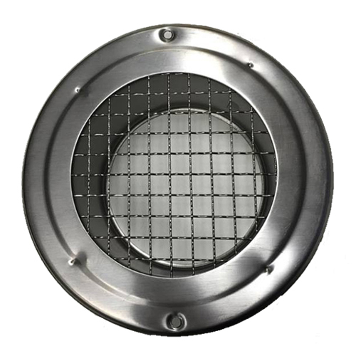 Round Mesh Vent Stainless Steel 200mm