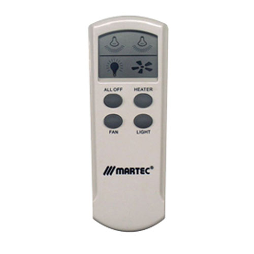 Remote Bathroom Exhaust Fan: Martec LCD Remote For Heat & Light Fans