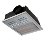 Ventair Regent Exhaust Fan with Heat Lamp