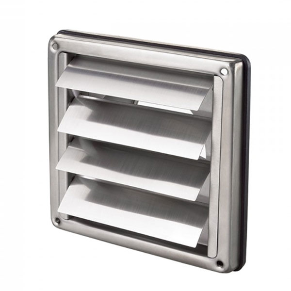 Vent Gravity Stainless Steel 100mm