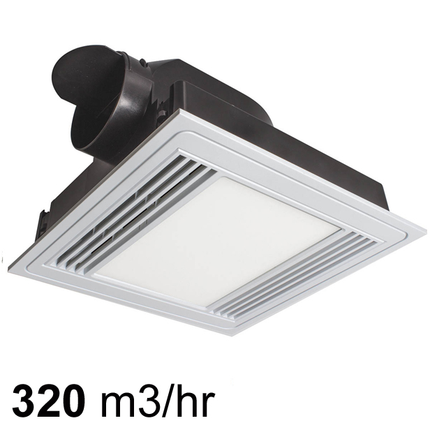 Brilliant Tercel Exhaust Fan With Led Light