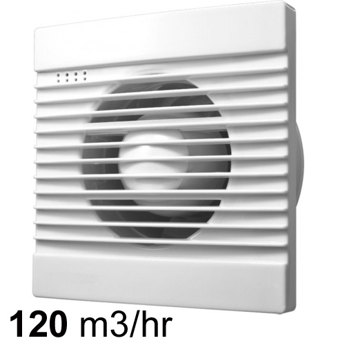 Ventair Slimline Wall Ceiling Exhaust Fan 125mm