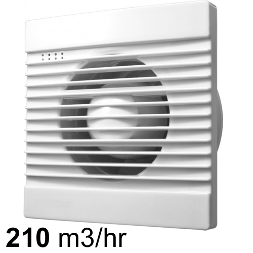Ventair Slimline Wall Ceiling Exhaust Fan 150mm Pure