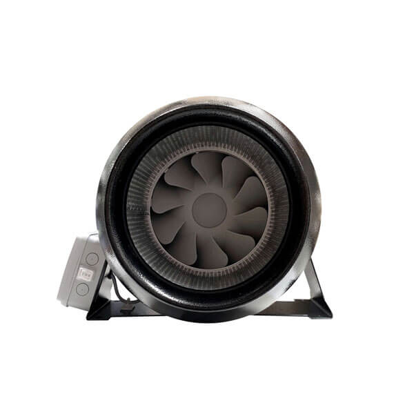 Tt Silent Mixflow Inline Fan With Lead Amp Plug 200mm