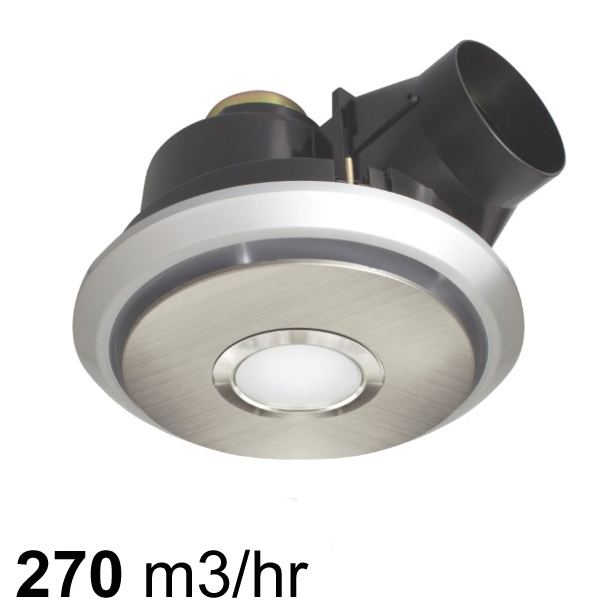 Brilliant Boreal 270 Exhaust Fan With Led Light