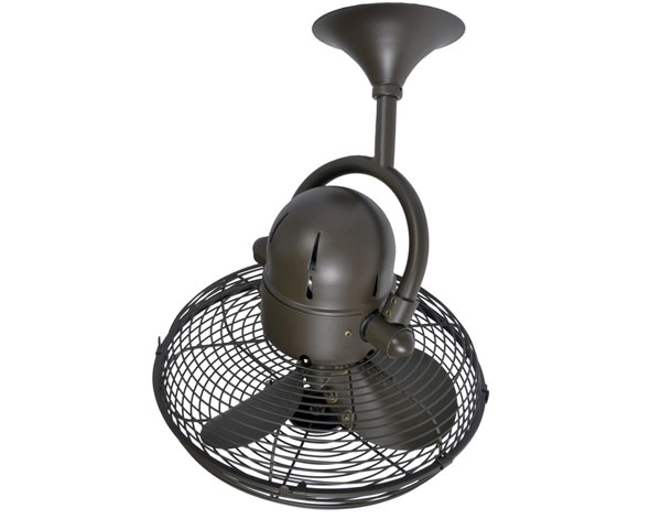 Atlas Kaye Ceiling Wall Fan 13 Quot Textured Bronze Pure