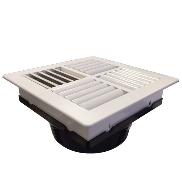 Square Multi Directional Air Conditioning Vent 250mm