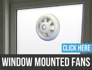 window exhaust fan bathroom in
