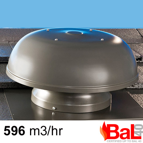 Fire Rated Exhaust Fans : Woodland grey maestro bal bush fire rated roof ventilator