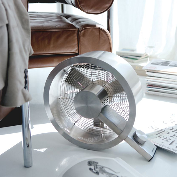 Stanler Form Q Stainless Steel Floor Fan Pure Ventilation