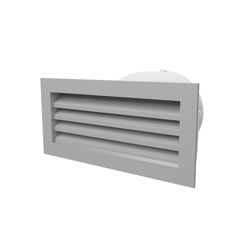 Ventilation Ducts Information : Brick sized premium aluminium vent with mm duct adaptor