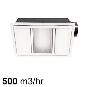 Domino Exhaust fan 3-in-1