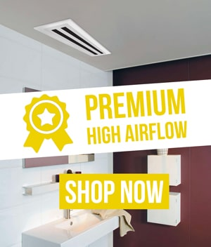 linear high airflow fan